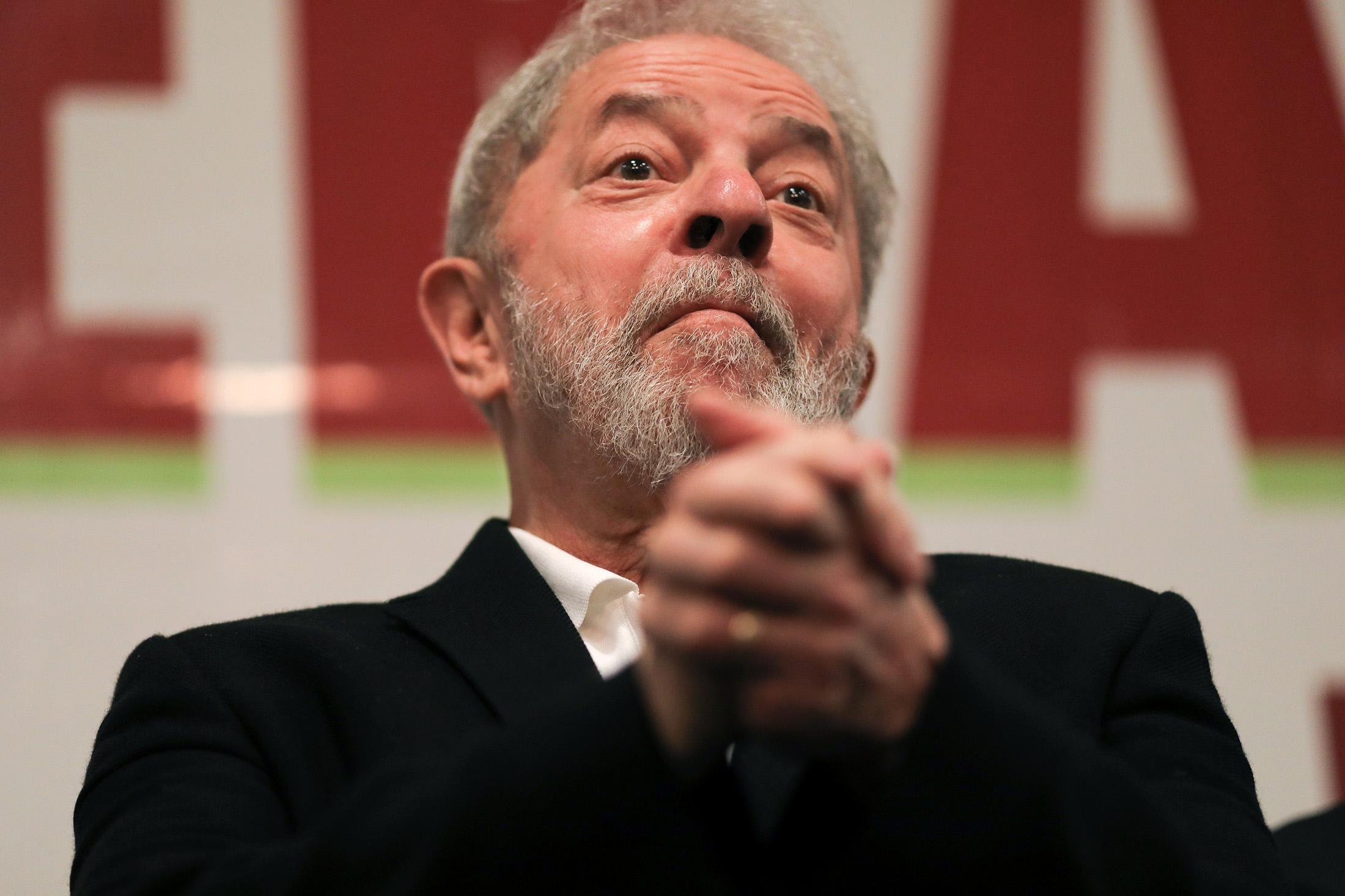Brazil's Lula Keeps Campaigning Despite Conviction