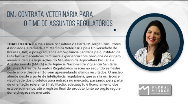 BMJ contrata veterinária para o time de Assuntos Regulatórios