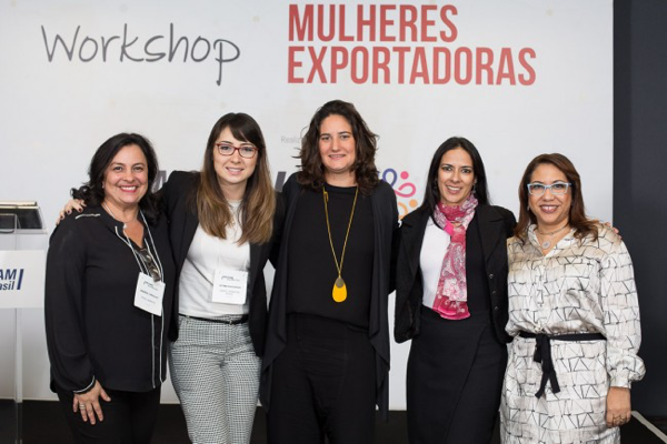 Monica Rodriguez speaks at the Women Exporting Workshop