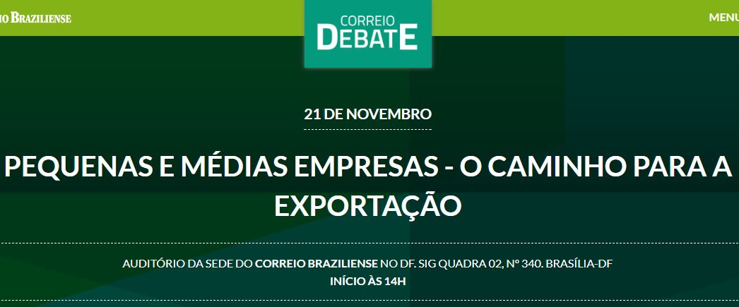 Correio realiza debate sobre exportação, nesta terça-feira