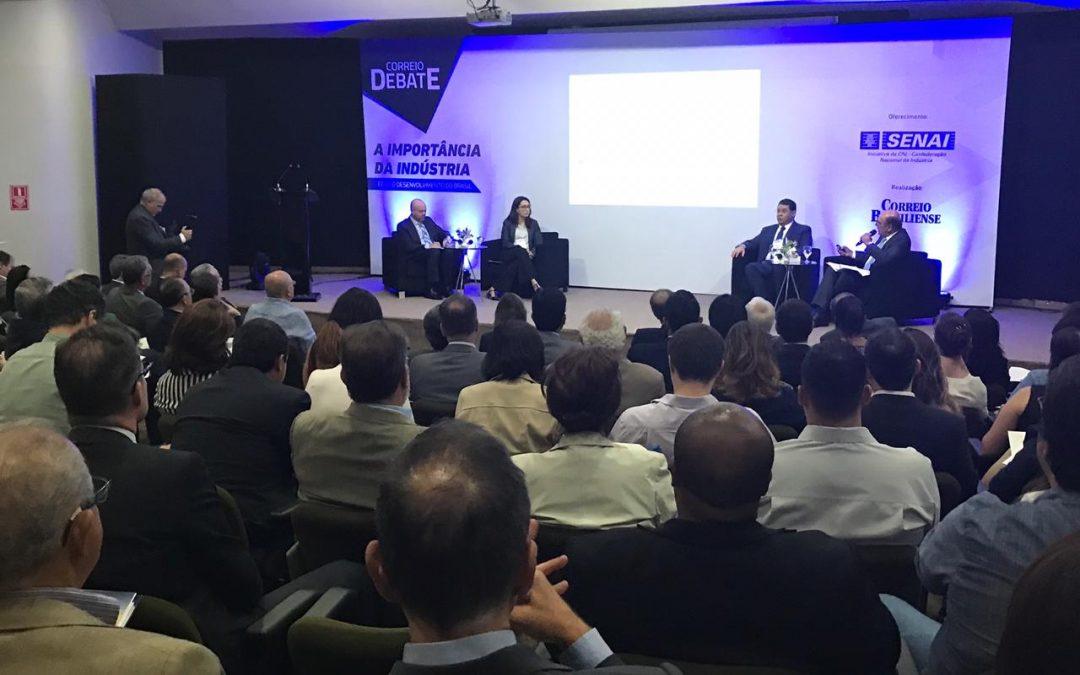 Renata Amaral participa do Correio Debate