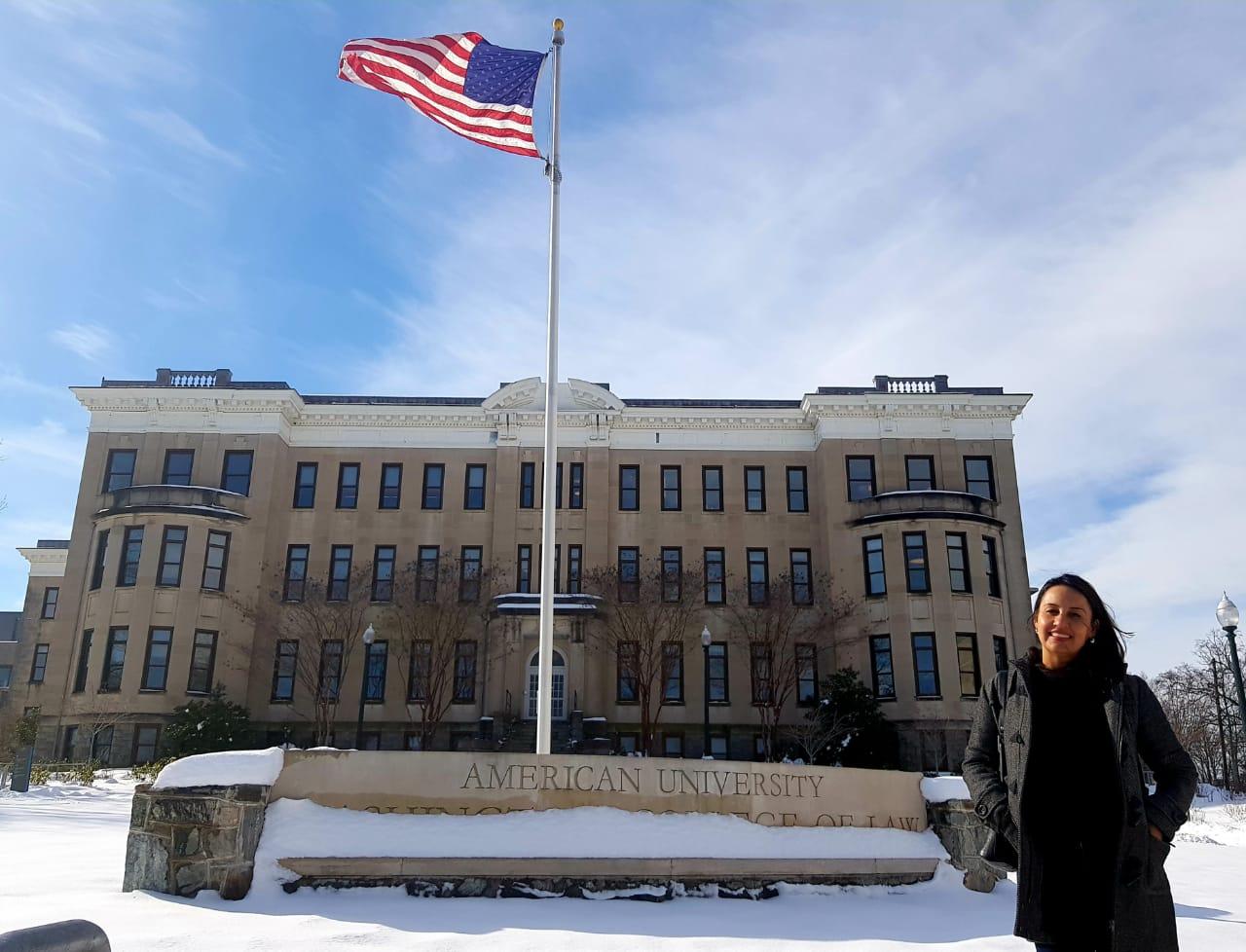 Renata Amaral muda-se para Washington