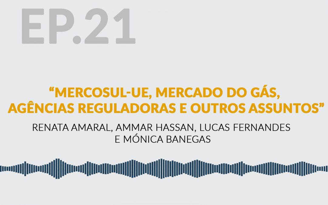 Mercosul-UE, Mercado do Gás, Agências Reguladoras e outros assuntos