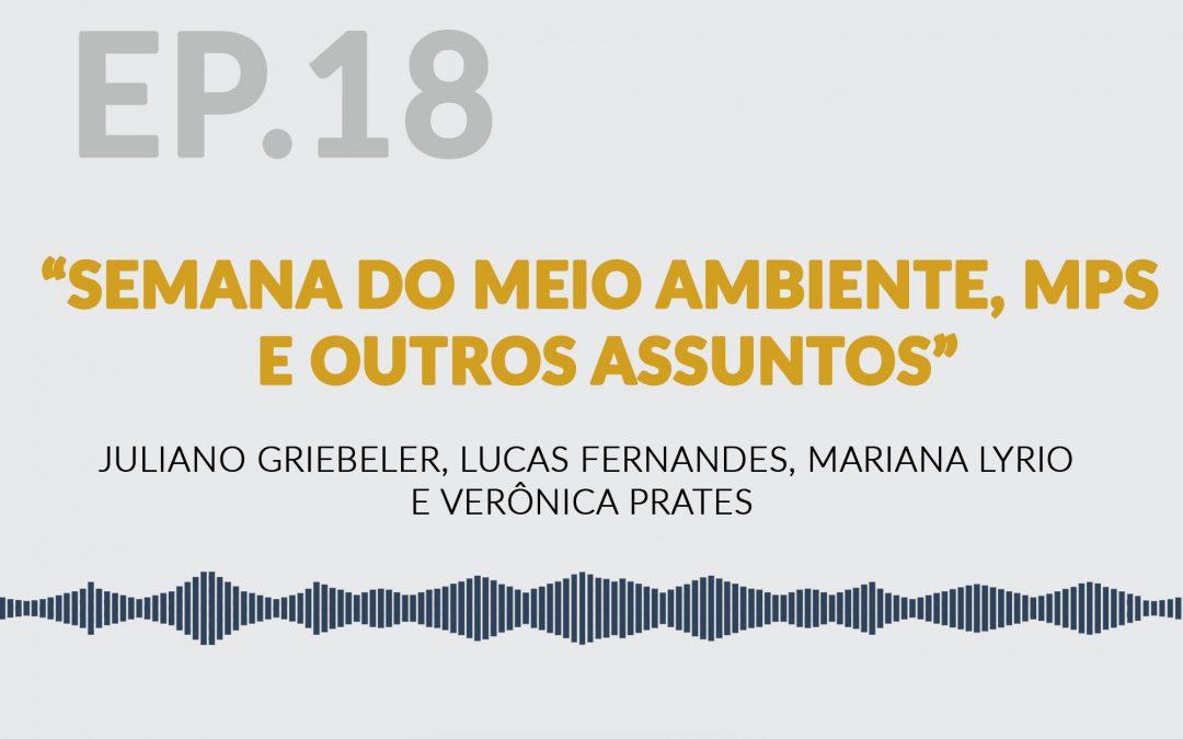 Semana do Meio Ambiente, MPs e Orçamento Impositivo, Bolsonaro na Argentina e outros assuntos
