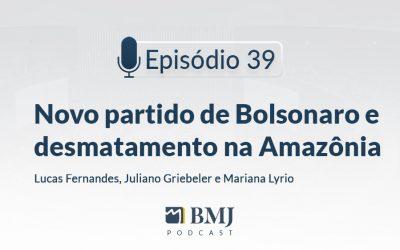 Novo partido de Bolsonaro e desmatamento na Amazônia