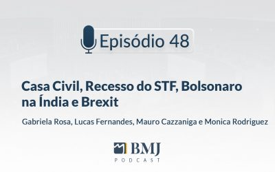 Casa Civil, Recesso do STF, Bolsonaro na Índia e Brexit
