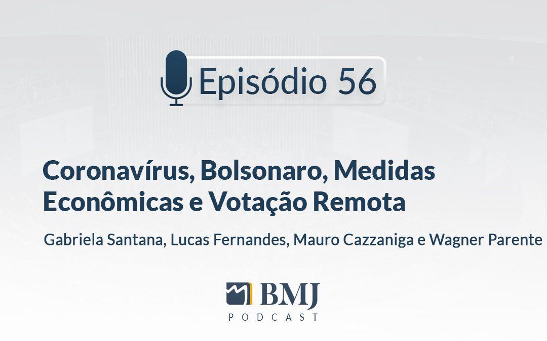 Coronavírus, Bolsonaro, Medidas Econômicas e Votação Remota
