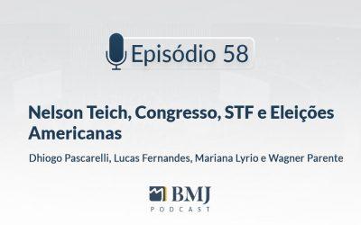 Nelson Teich, Congresso, STF e Eleições Americanas