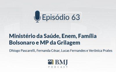 Ministério da Saúde, Enem, Família Bolsonaro e MP da Grilagem