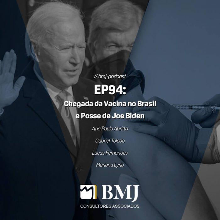 Chegada da Vacina no Brasil e Posse de Joe Biden