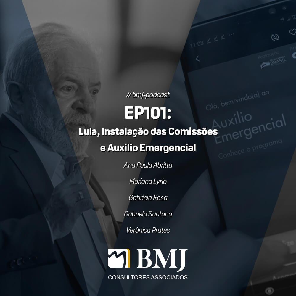 Lula, Instalação das Comissões e Auxílio Emergencial