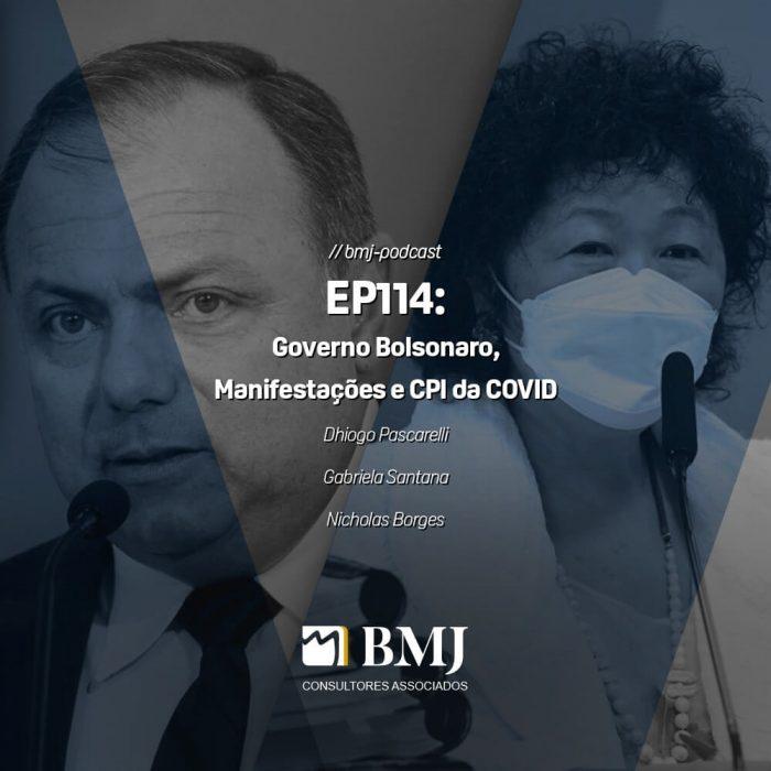Governo Bolsonaro, Manifestações, CPI da COVID