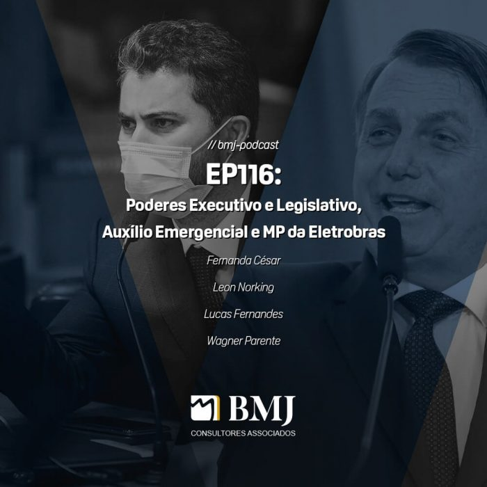 Poderes Executivo e Legislativo, Auxílio Emergencial e MP da Eletrobras