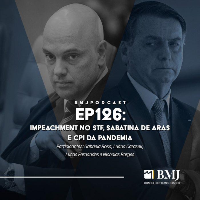 Impeachment no STF, Sabatina de Aras e CPI da Pandemia
